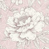 Albany Lavana Floral Pink Wallpaper - Product code: 35820