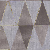 Galerie Diamond Geo Taupe Wallpaper