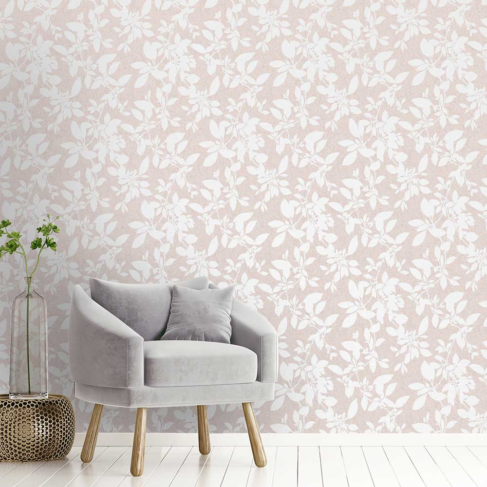 Albany Linden Blush Wallpaper - Product code: 75850