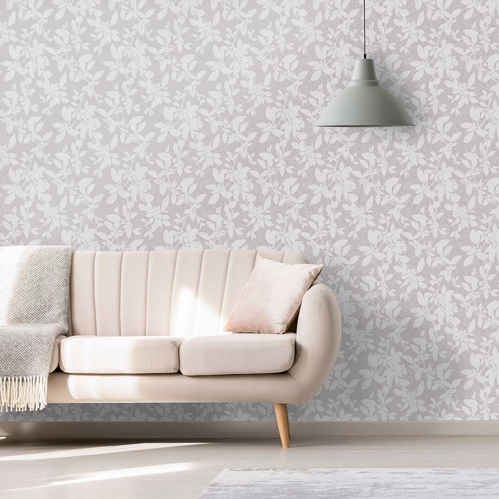Albany Linden Grey Wallpaper - Product code: 75852