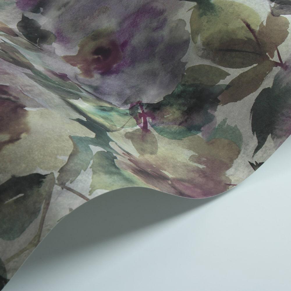 Surimono Wallpaper - Amethyst - by Designers Guild