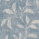 Boråstapeter Rosewood Night Blue & Beige Wallpaper - Product code: 1904