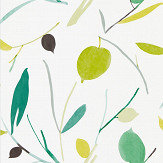 Scion Oxalis Kiwi / Juniper Wallpaper - Product code: 111994