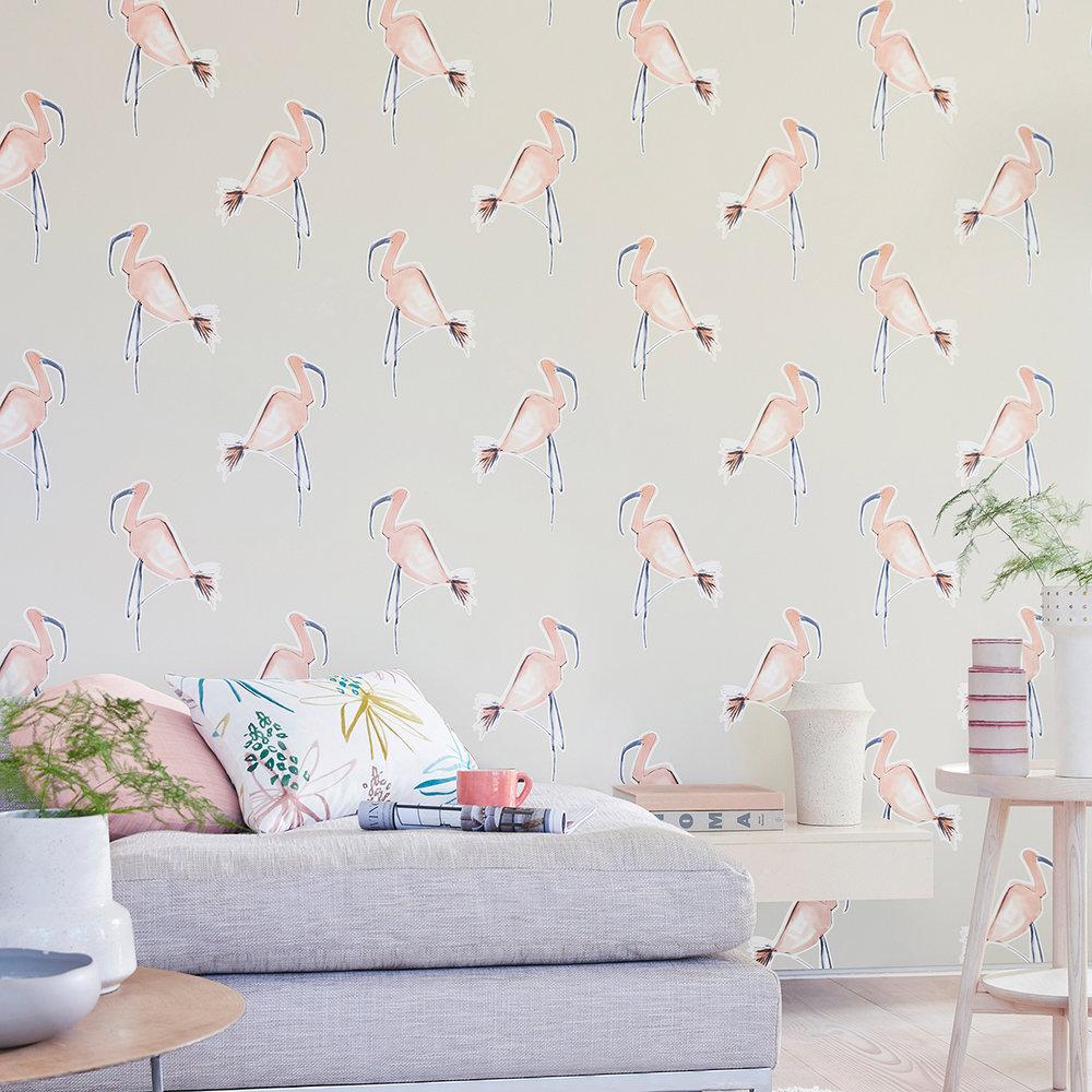 Scion Zanzibar Peach Wallpaper - Product code: 111998
