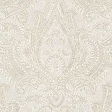 Boråstapeter Divine Paisley Beige and White Wallpaper - Product code: 1920