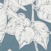 Scion Parlour Palm Charcoal Wallpaper - Product code: 112023