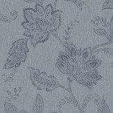 Boråstapeter Indigo Bloom Blue Wallpaper - Product code: 1926