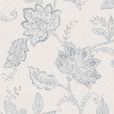 Boråstapeter Indigo Bloom Blue Wallpaper - Product code: 1929