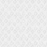 Boråstapeter Jaipur Linen White & Black Wallpaper - Product code: 1935