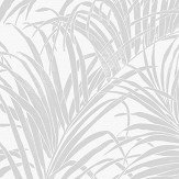 Arthouse Palm Kiss Foil Sliver / Grey Wallpaper - Product code: 903200