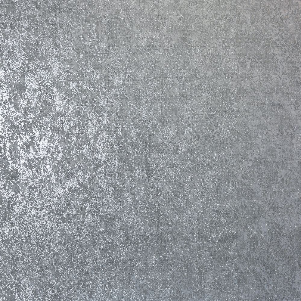 Texture Kiss Foil Wallpaper - Silver - by Arthouse