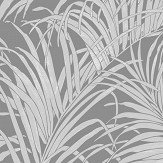 Arthouse Palm Kiss Foil Gunmetal Grey Wallpaper - Product code: 903305
