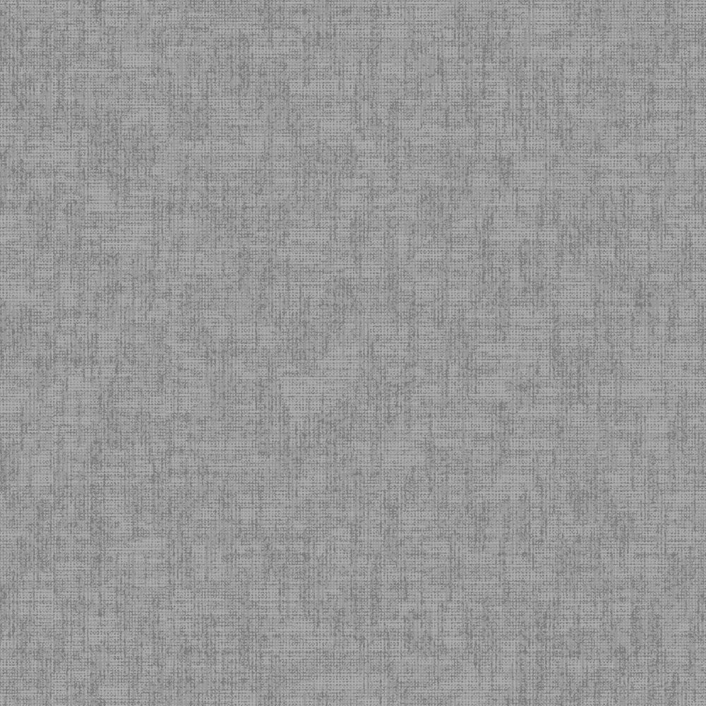 Texture Kiss Foil Wallpaper - Grey Charcoal - by Arthouse