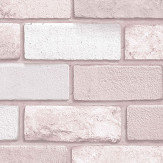 Arthouse Diamond Brick Pink Wallpaper - Product code: 260005
