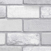 Arthouse Diamond Brick Silver Wallpaper - Product code: 669401
