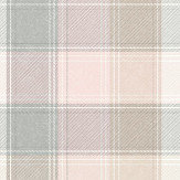 Arthouse Country Check Pink Wallpaper - Product code: 901900