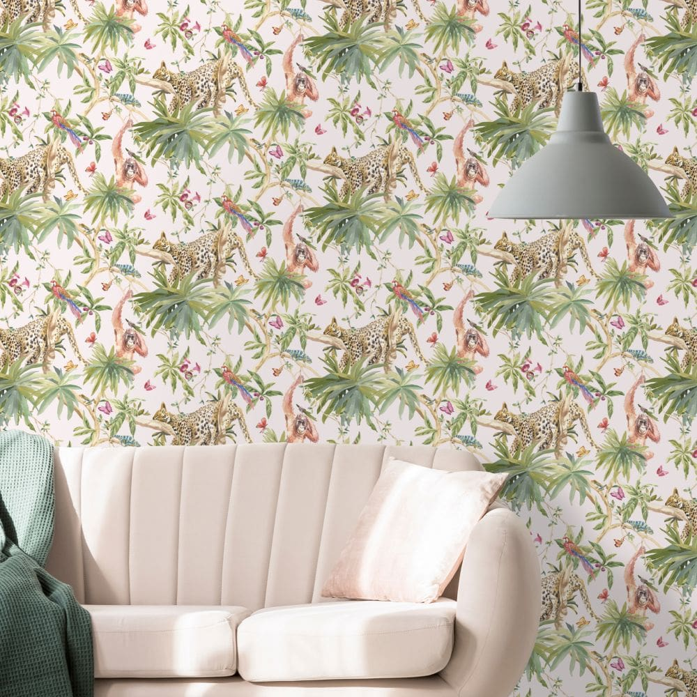 Albany Samroze Light Pink Wallpaper - Product code: 90561