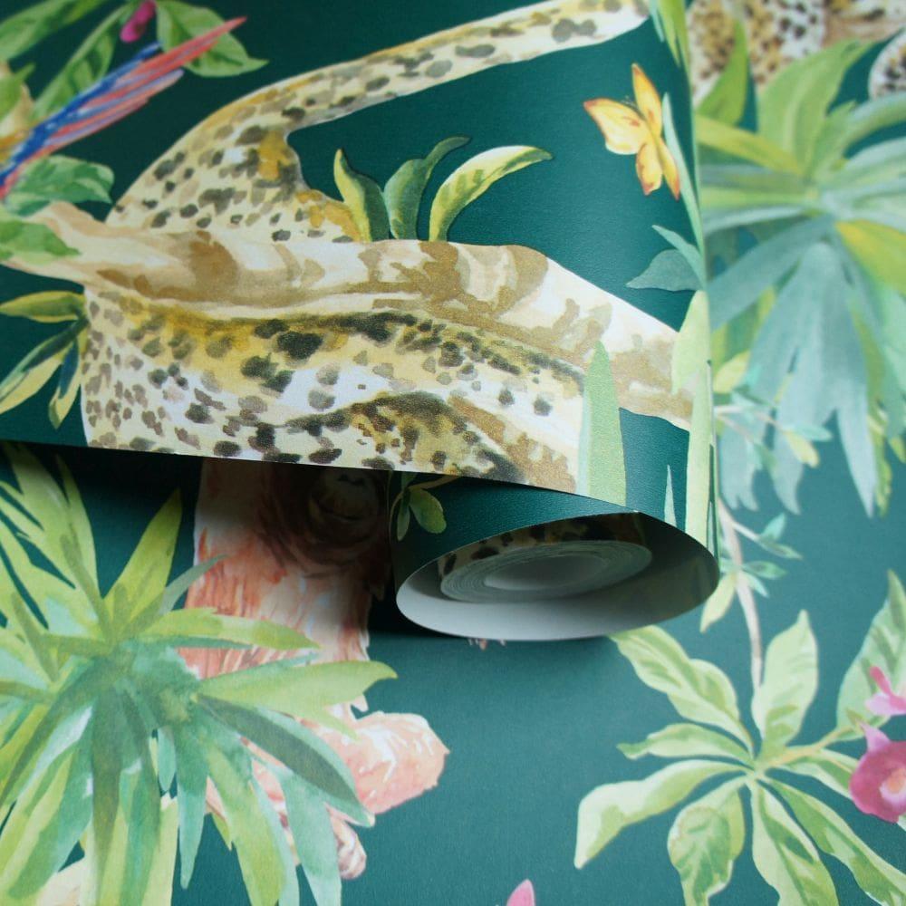 Albany Samroze Green Wallpaper - Product code: 90563
