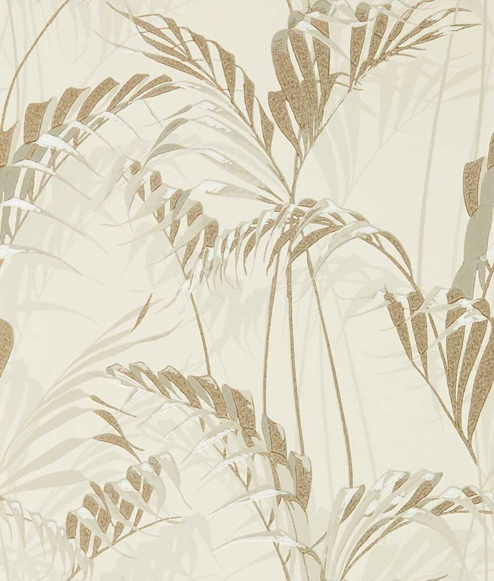 Sanderson Palm House Linen / Gilver Wallpaper - Product code: 216644