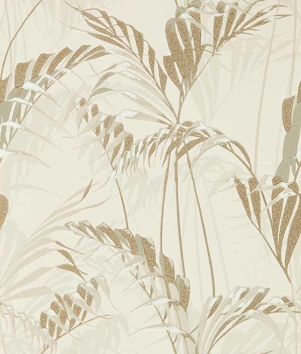 Sanderson Palm House Linen / Gilver Wallpaper main image