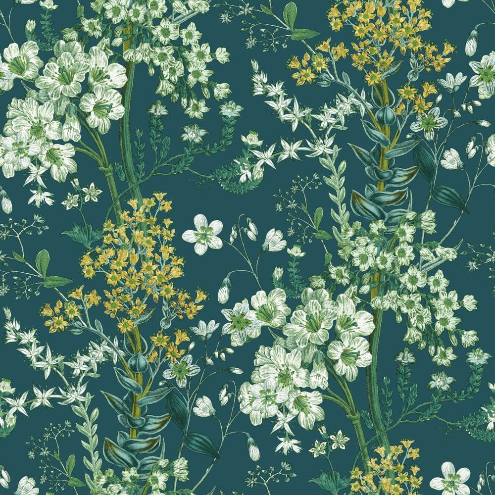 Albany Ayana Teal Wallpaper - Product code: 90571