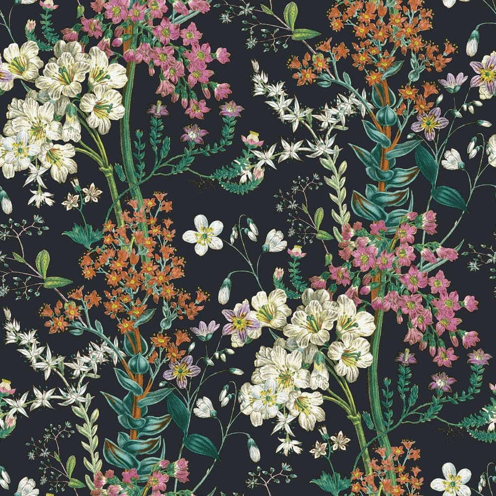 Albany Ayana Black Wallpaper - Product code: 90572