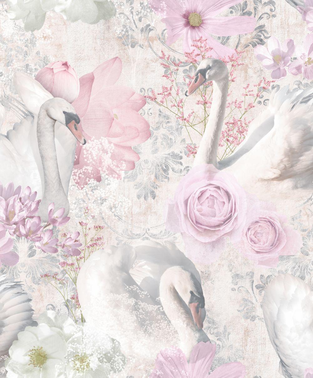 Albany Gabriella Pink Wallpaper - Product code: 90580