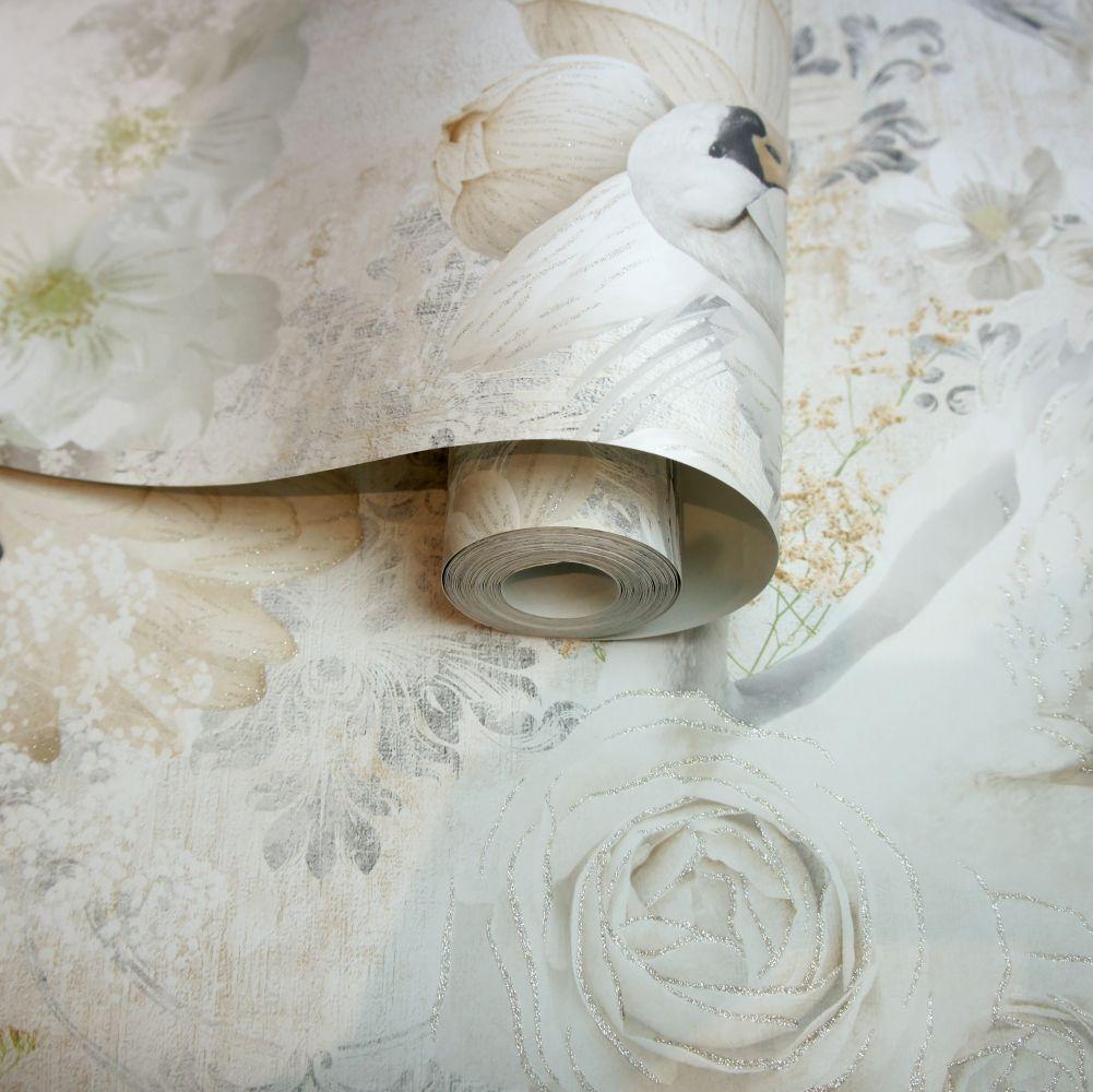 Albany Gabriella Beige Wallpaper - Product code: 90581