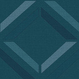 Albany Lana Geo Teal Wallpaper - Product code: 90592