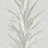 Sanderson Yucca Grey / Gilver Wallpaper