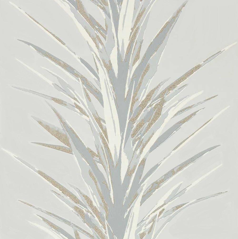 Sanderson Yucca Grey / Gilver Wallpaper - Product code: 216650