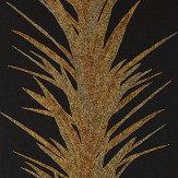 Sanderson Yucca Charcoal / Gold Wallpaper