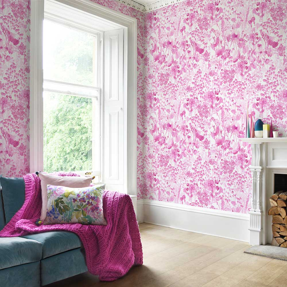 bluebellgray Frankie Mural Pink - Product code: WP001