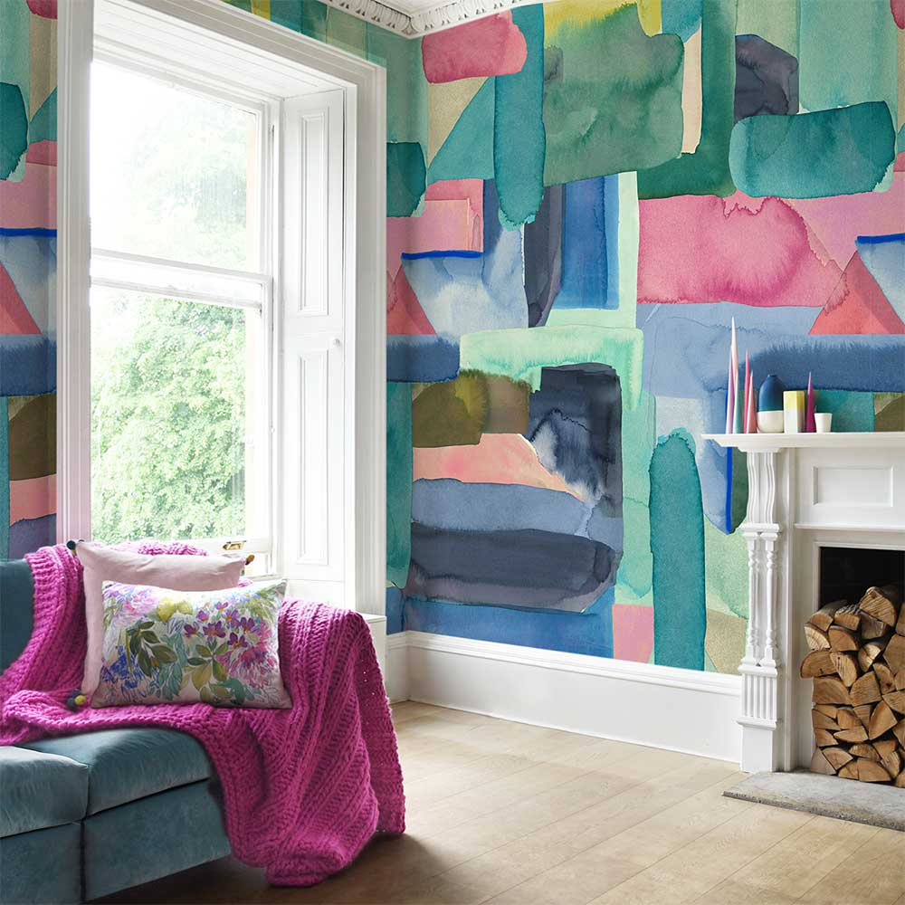 bluebellgray Colourist Mural - Product code: WO001