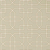 Sanderson Hampton Trellis Linen Wallpaper - Product code: 216659