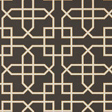 Sanderson Hampton Trellis Charcoal Wallpaper