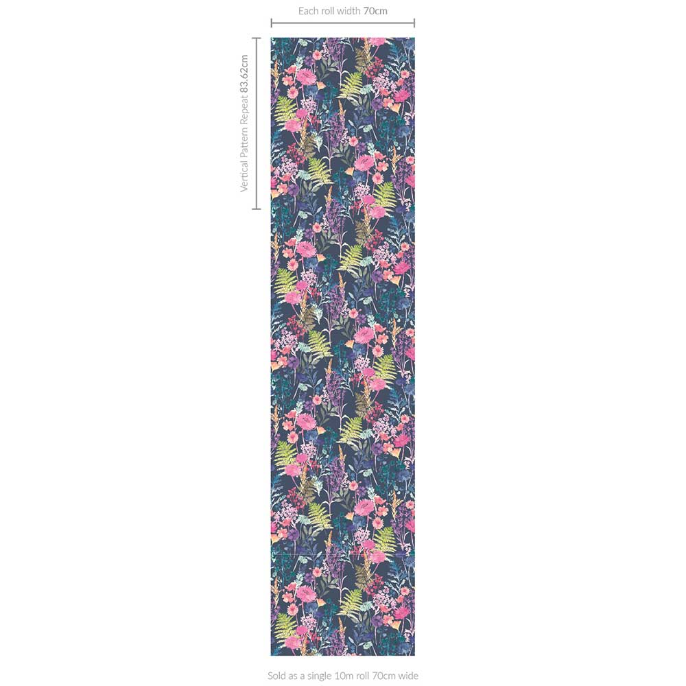 bluebellgray Peggy Midnight Wallpaper - Product code: WP002