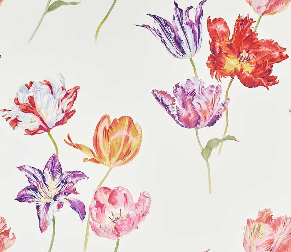 Sanderson Tulipomania Botanical Mural - Product code: 216666