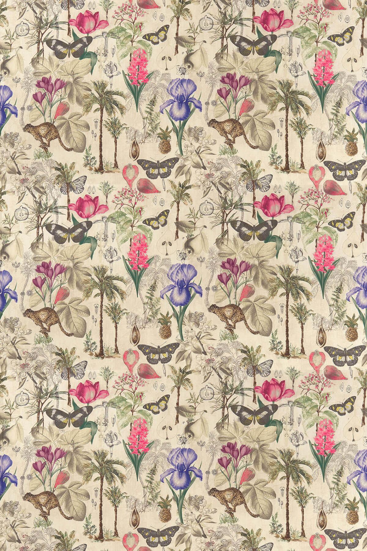 Botany Fabric - Summer - by Clarke & Clarke