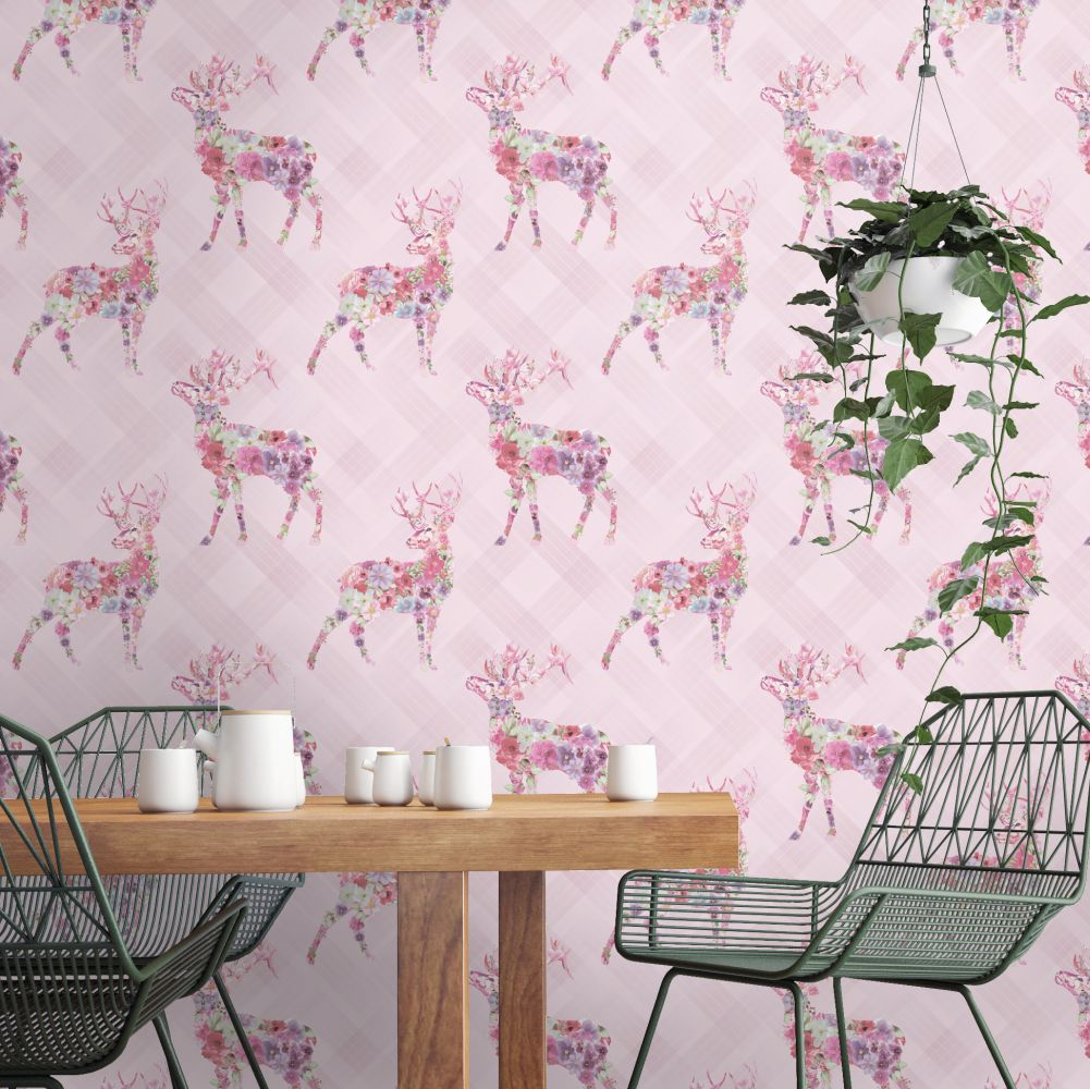 Albany Calla Pink Wallpaper - Product code: 90621