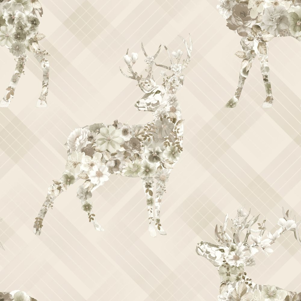 Albany Calla Beige Wallpaper - Product code: 90622