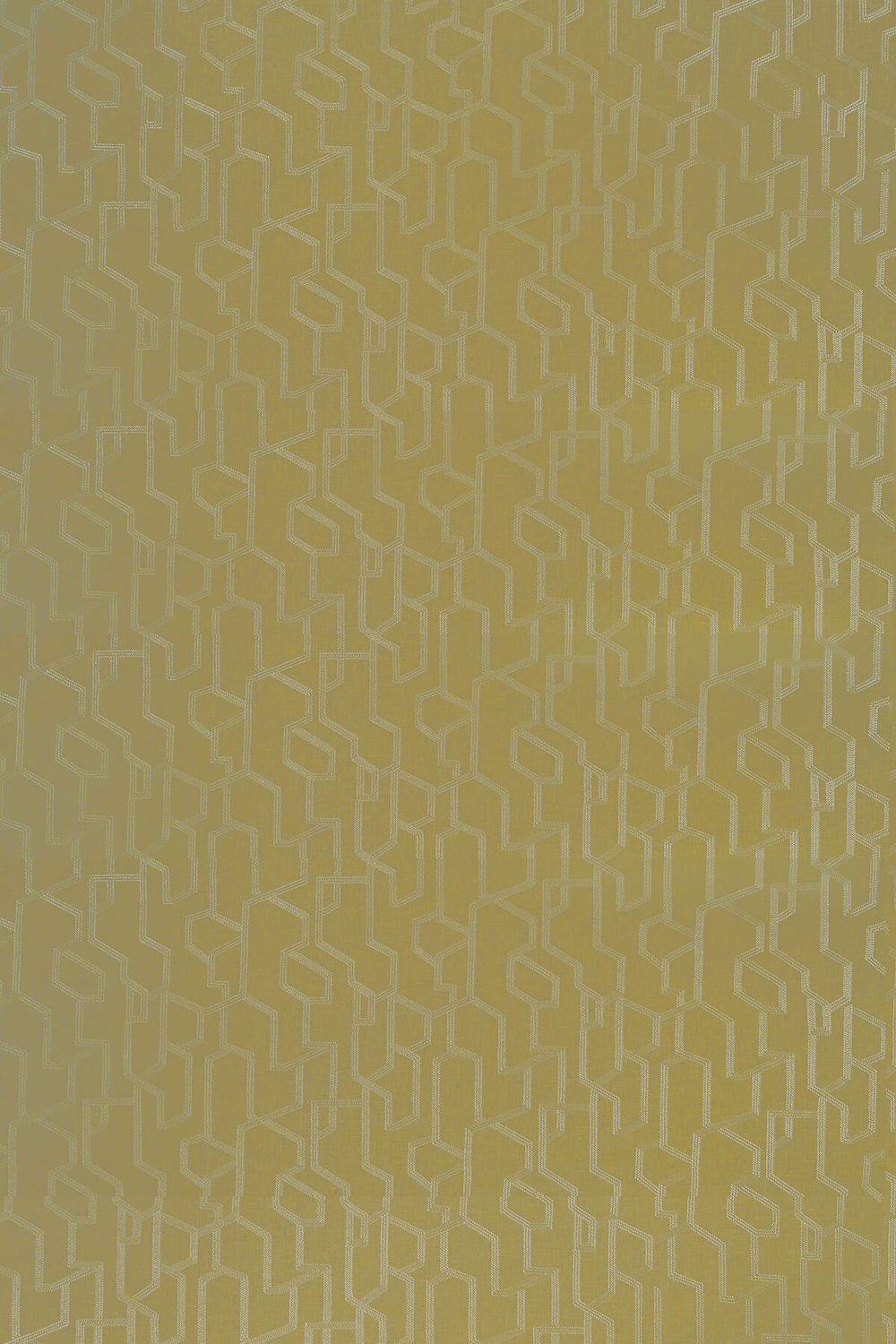 Clarke & Clarke Labyrinth Citron Fabric - Product code: F1300/02
