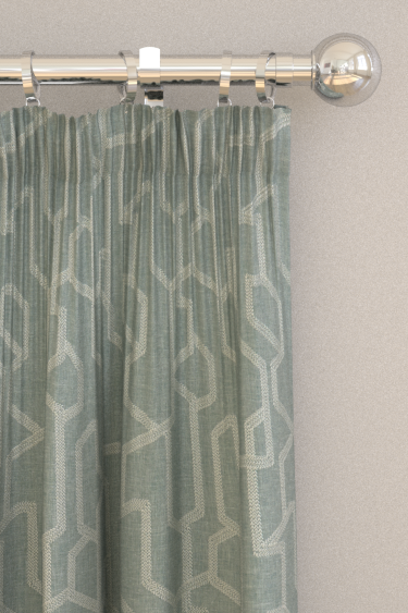 Clarke & Clarke Labyrinth Mineral Curtains - Product code: F1300/05