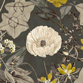 Clarke & Clarke Passiflora Charcoal Fabric - Product code: F1304/01