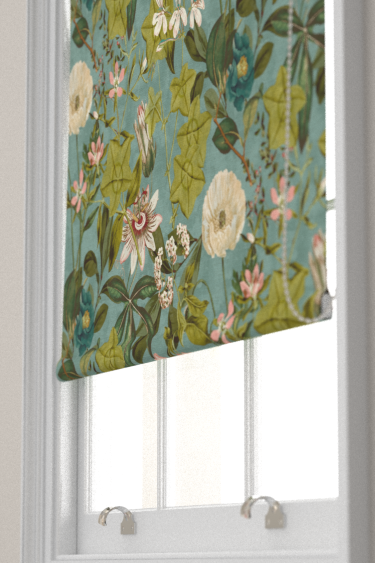 Clarke & Clarke Passiflora Mineral / Blush Blind - Product code: F1304/04