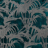 Clarke & Clarke Tropicale Kingfisher Fabric