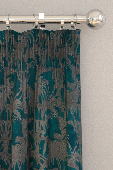 Clarke & Clarke Tropicale Kingfisher Curtains - Product code: F1305/03