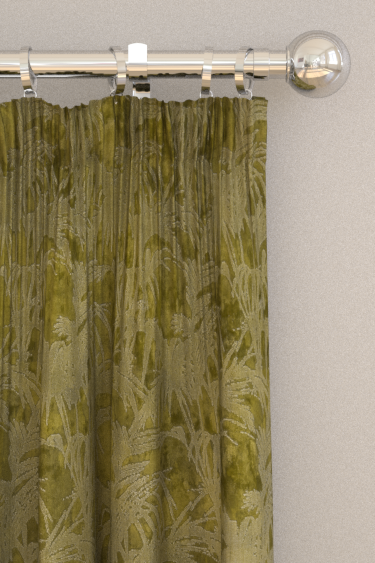 Clarke & Clarke Tropicale Citron Curtains - Product code: F1305/02