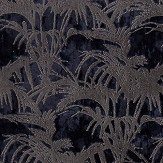 Clarke & Clarke Tropicale Midnight Fabric