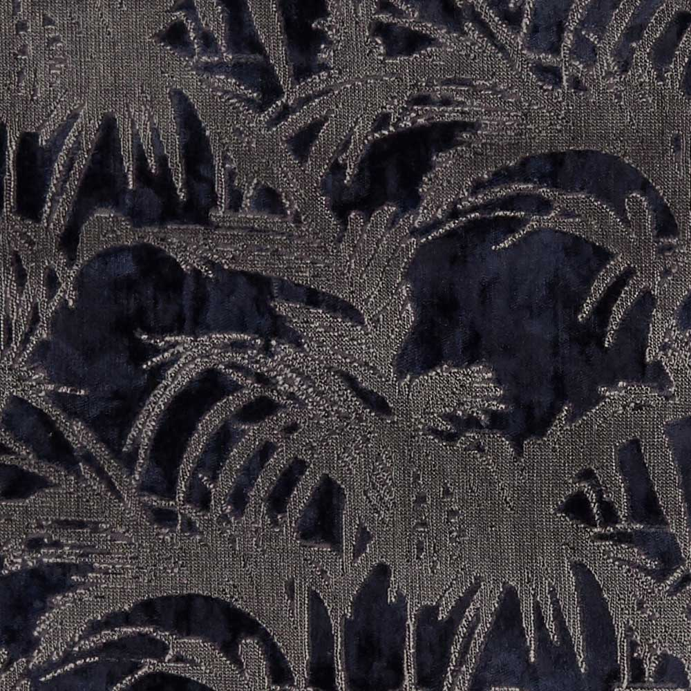 Clarke & Clarke Tropicale Midnight Fabric - Product code: F1305/04